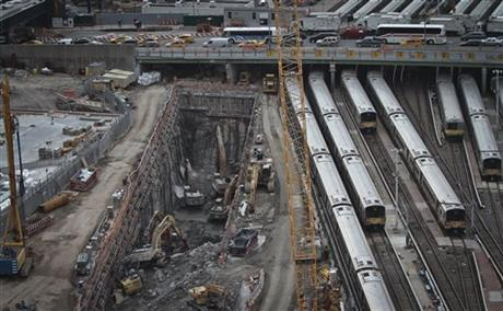 hudson yards tunnel