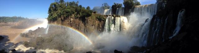 Iguaçu Falls in Brasil.